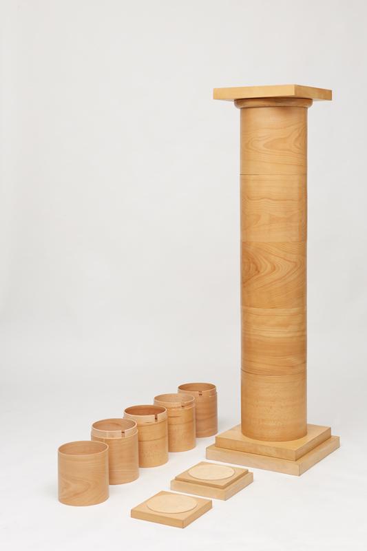 COLONNE D\'ERCOLE colonne in legno per interni